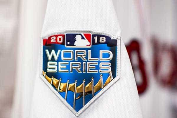 World Series 2018 patch